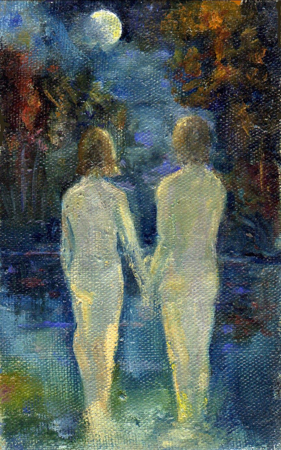 Ночное купание голой фото 553-717